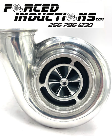 Picture of FORCED INDUCTIONS V5 BILLET S478 SC 87 TW .90 A/R T4 Housing